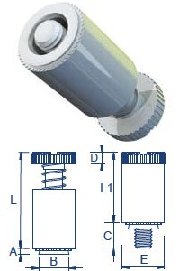 Self Clinch Panel Fasteners