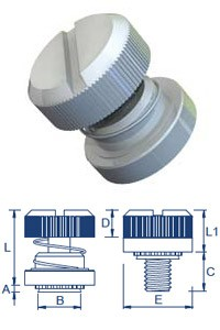 Self Clinch Low Profile Panel Fasteners